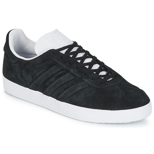 Shoes Low top trainers adidas Originals GAZELLE STITCH AND Black