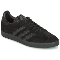 Shoes Men Low top trainers adidas Originals GAZELLE Black