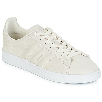 Shoes Low top trainers adidas Originals CAMPUS STITCH AND T White / Chalk