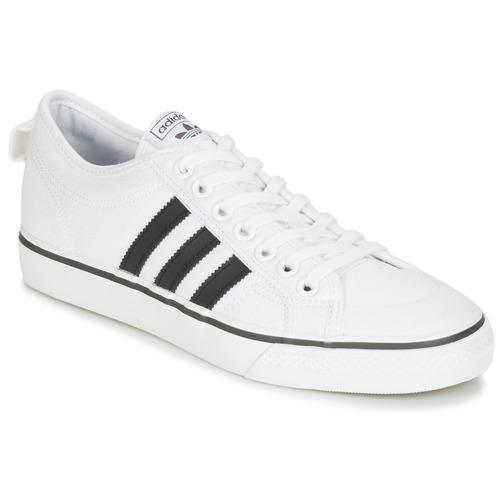 Shoes Low top trainers adidas Originals NIZZA White