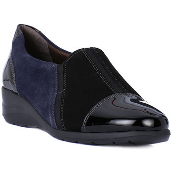 Shoes Women Loafers Melluso PANTOFOLA Nero