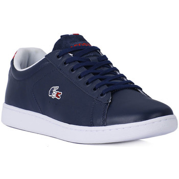 Shoes Men Low top trainers Lacoste CARNABY EVO 31 NAVY Blu