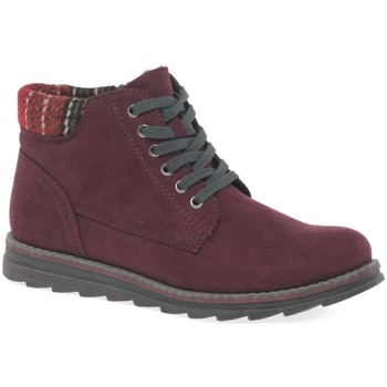 Shoes Women Boots Marco Tozzi Mojito Womens Casual Boots red