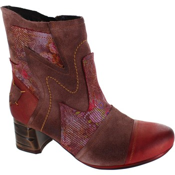 Shoes Women Ankle boots Maciejka Coral Brown