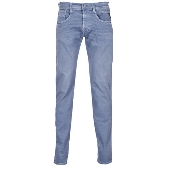 Clothing Men slim jeans Replay ANBASS Blue / Medium