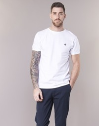 Clothing Men short-sleeved t-shirts Timberland SS DUNSTAN RIVER CREW TEE White