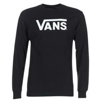 Clothing Men Long sleeved tee-shirts Vans VANS CLASSIC Black