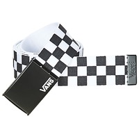 Clothes accessories Men Belts Vans DEPPSTER II Black / White