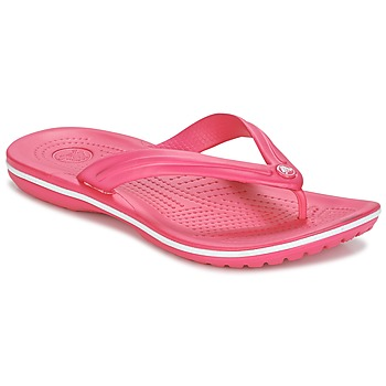 Shoes Women Flip flops Crocs CROCBAND FLIP Pink