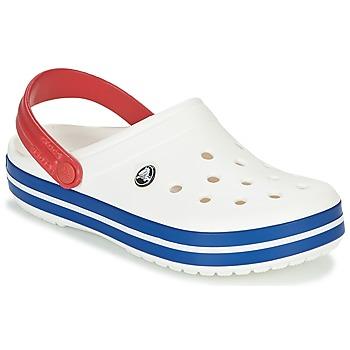 Shoes Clogs Crocs CROCBAND White / Blue / Red