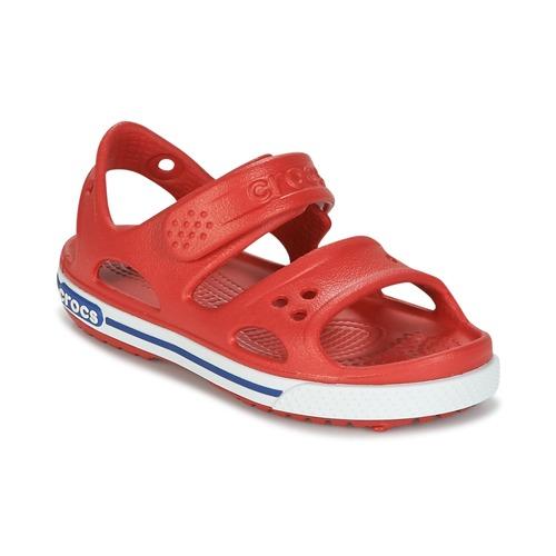 Shoes Boy Sandals Crocs CROCBAND II SANDAL PS Red