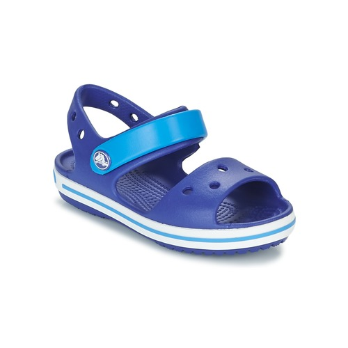 559409a46400 Crocs CROCBAND SANDAL KIDS Blue - Free delivery with Spartoo UK ...
