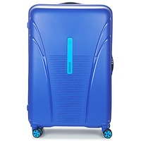 Bags Hard Suitcases American Tourister SKYTRACER 77CM 4R Blue