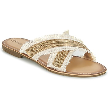 Shoes Women Mules Moony Mood IRTA Camel