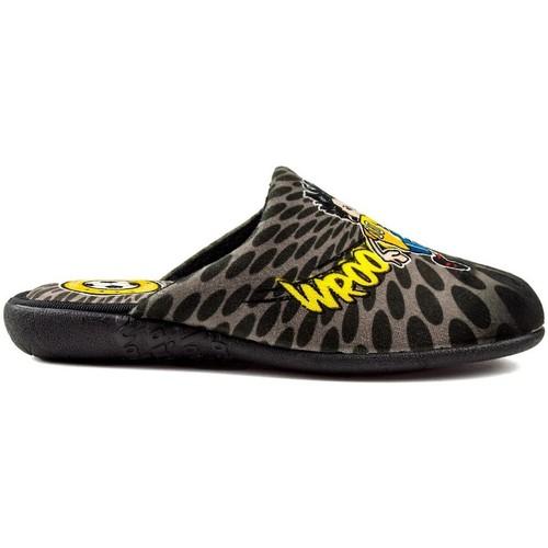 Shoes Boy Slippers Vulladi ROC FOOTBALL CHILDREN BLACK