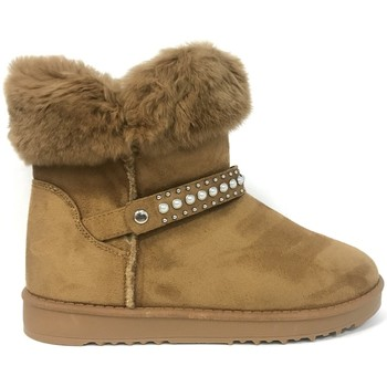 Shoes Women Mid boots Nice Shoes Boots Camel KB-032 Brown