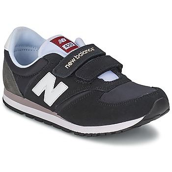 Shoes Children Low top trainers New Balance KE420 Black / Grey