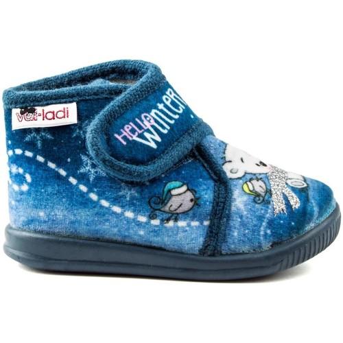Shoes Girl Slippers Vulladi PEK HELLO BLUE