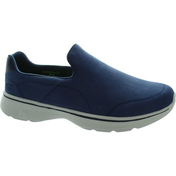 Shoes Men Slip ons Skechers GOwalk 4 Remarkable Navy