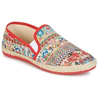 Shoes Women Slip-ons Desigual GRATIFIP-BLOU Red