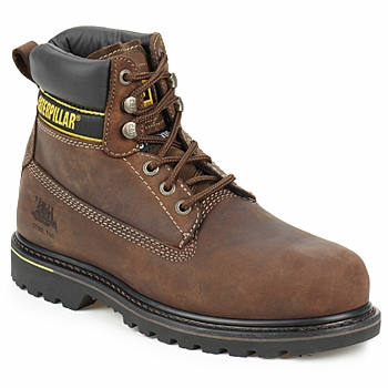 Shoes Men safety shoes Caterpillar HOLTON SB Brown