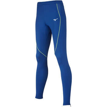 Clothing Women Leggings Mizuno Collant femme premium  JPN bleu