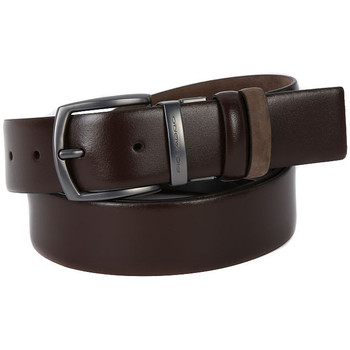 Clothes accessories Men Belts Piquadro MARRONE DOUBLE FACE Marrone