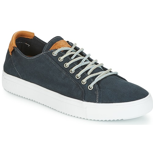Shoes Men Low top trainers Blackstone PM31 Blue