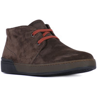 Shoes Men Ankle boots Frau SUEDE BLOCK PEPE Marrone