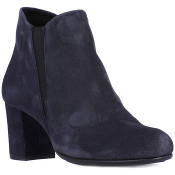 Shoes Women Ankle boots Frau CAMOSCIO NAVY Blu