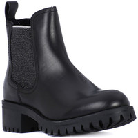 Shoes Women Ankle boots Frau TIBET NERO SILVER    136,3