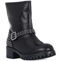 Shoes Women High boots Frau TIBET NERO METAL Nero