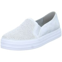 Shoes Slip ons Skechers Double Upshiny Dancer Silver