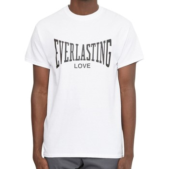 Clothing Men T-shirts & Polo shirts Oiboy Everlasting Love T-Shirt White White