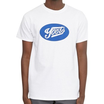 Clothing Men T-shirts & Polo shirts Oiboy Yoots T-Shirt White White