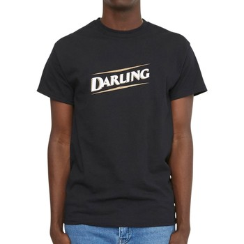Clothing Men T-shirts & Polo shirts Oiboy Darling T-Shirt Black Black