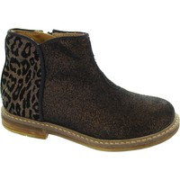 Shoes Girl Mid boots Pom d'Api Retro Back Bronze