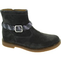 Shoes Girl Mid boots Pom d'Api Trip Twist Grey