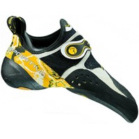 Shoes Women Low top trainers La Sportiva Solution Black-White-Yellow