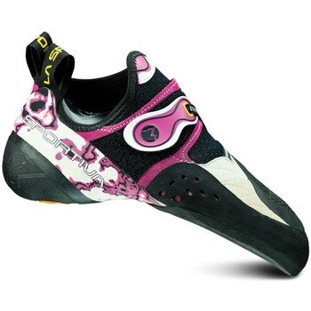 Shoes Women Low top trainers La Sportiva Solution Womens White-Black-Pink