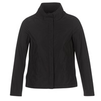 Clothing Women Jackets Geox PORTCE Black