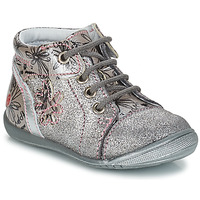Shoes Girl Mid boots GBB ROSEMARIE Silver