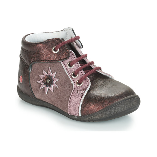 Shoes Girl Mid boots GBB RESTITUDE Brown