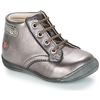 Shoes Girl Mid boots GBB NICOLE Purple / Metallic