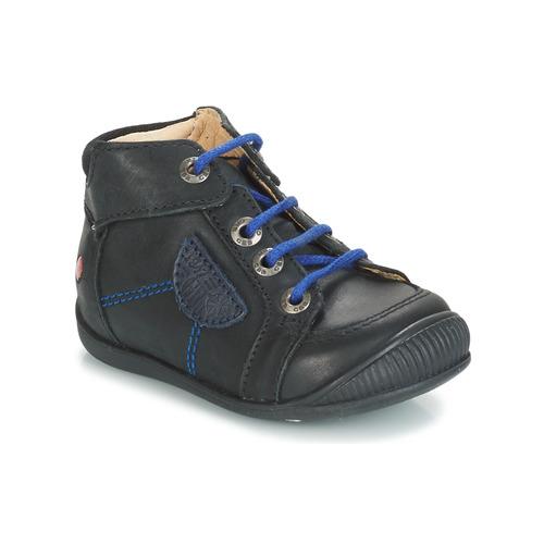 Shoes Boy Mid boots GBB RACINE Black