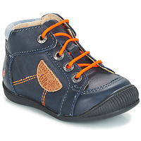 Shoes Boy Mid boots GBB RACINE Blue / Marine