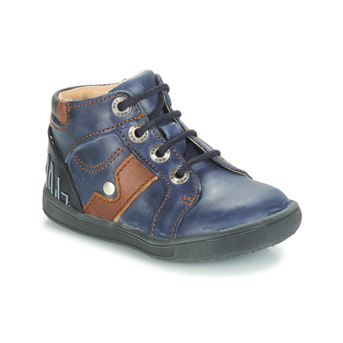 Shoes Boy Mid boots GBB REGIS Blue