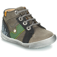 Shoes Boy Mid boots GBB REGIS Grey