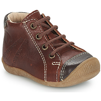 Shoes Boy Mid boots GBB NOE Brown