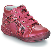 Shoes Girl Mid boots GBB ROSETTA Pink